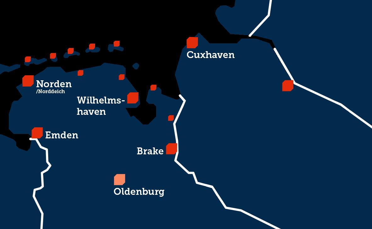 Hafenkarte